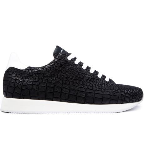 krisvanassche-black-crocodile-pattern-sneakers
