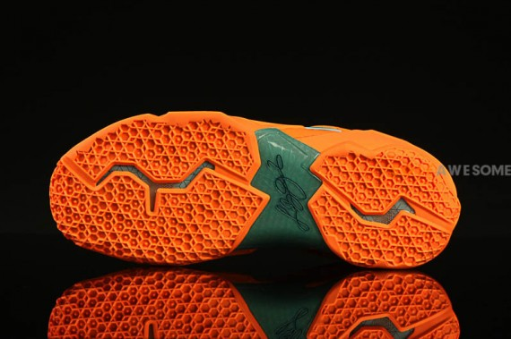 Nike LeBron 11 Atomic Orange Green Abyss Glacier Ice Release Date