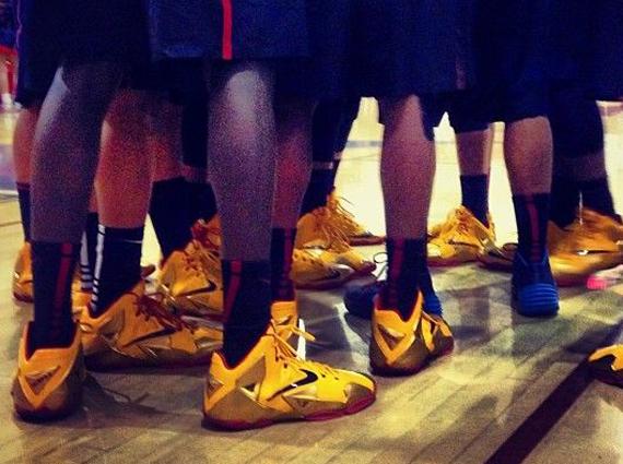 Nike LeBron 11 Fairfax PE