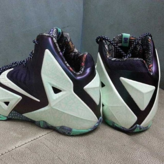 Nike LeBron 11 GS Glow in the Dark Another Look