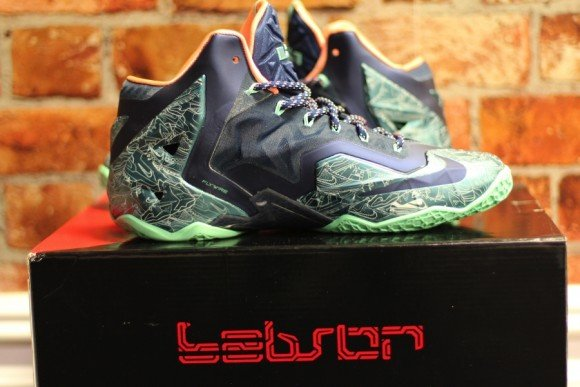 Nike LeBron 11 Laser Customs by Absolelute for Soley Ghost