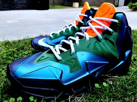Nike LeBron 11 No Swoosh Another Look