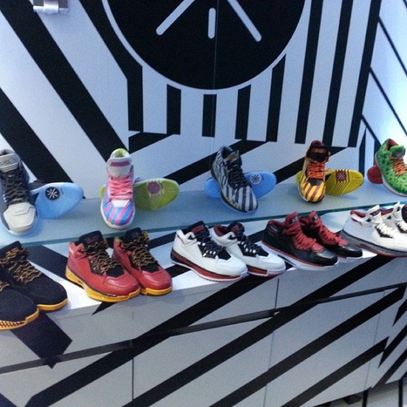Dwyane Wade Previews Upcoming Way of Wade 2 Colorways On Birthday Yacht