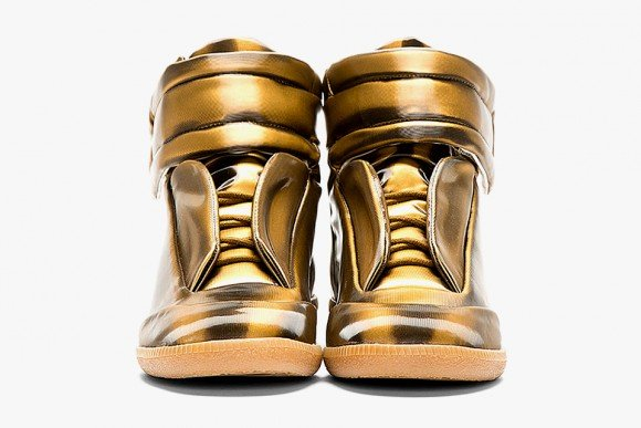 Maison Martin Margiela Copper Glossy Vinyl High Top