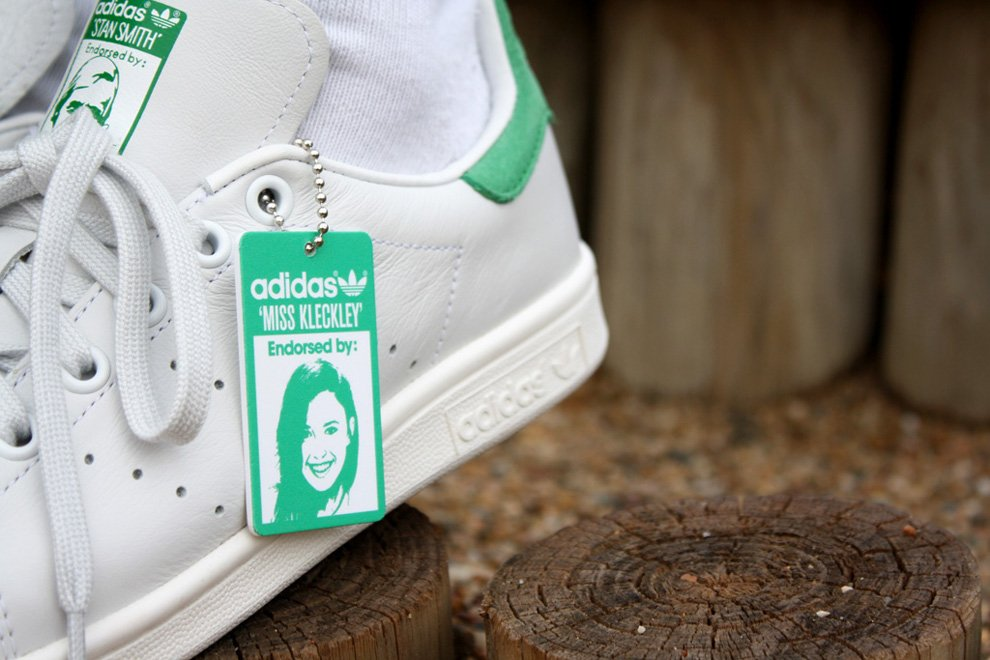 new arrival accd9 95421 Miss Kleckley x adidas Originals Stan Smith OG | SneakerFiles