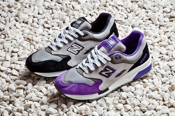 New Balance 1600 Black and Purple Pack