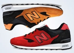 "New Balance 577 ""Red"" & Orange"" – February 2014"