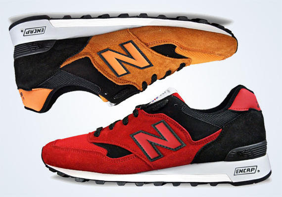 New Balance 577 Red & Orange February 2014