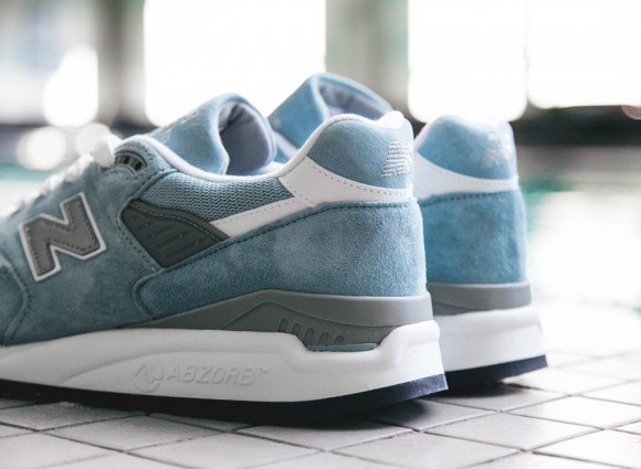 New Balance 998 Made in USA Pool Blue Now Available