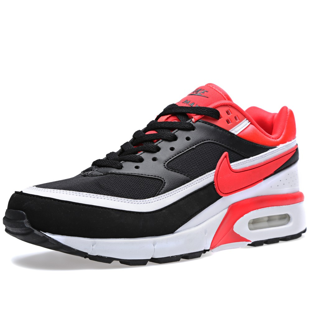 nike air classic bw gen ii 39 black light crimson white. Black Bedroom Furniture Sets. Home Design Ideas