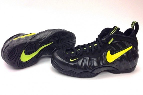 Nike Air Foamposite Pro Army Voltage Customs by Sole Swap
