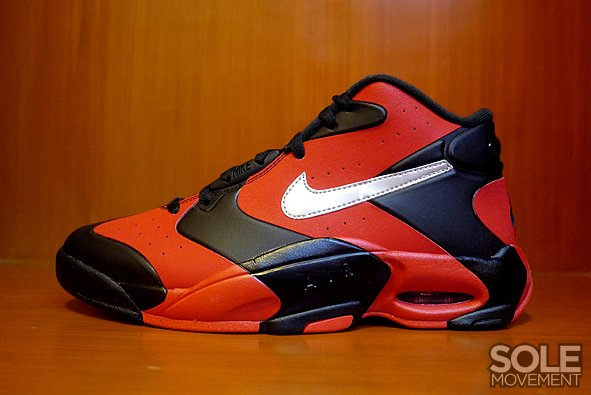 save off f094c 76150 Nike Air Up '14 'Black/University Red-Metallic Silver' | New Images ...