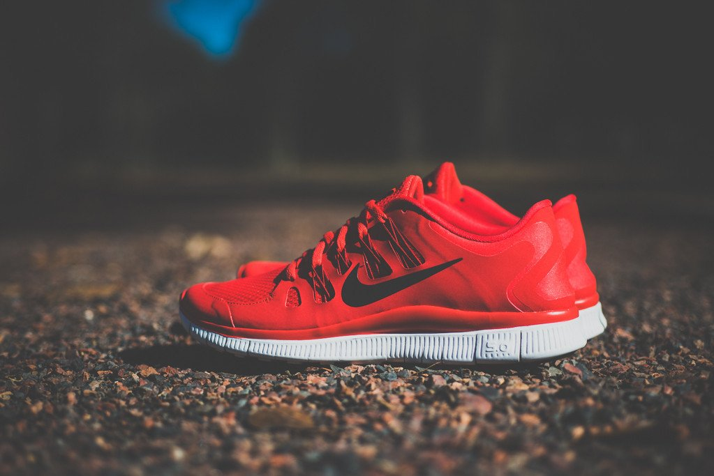 67fc0b9267 Nike Free 5.0+  Gym Red
