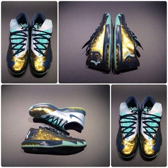 Kevin Durant's New Career-High Honored With Golden KD VI