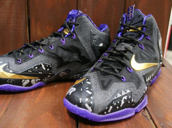 Hot Sale Nike Lebron 11 BHM Cheap sale