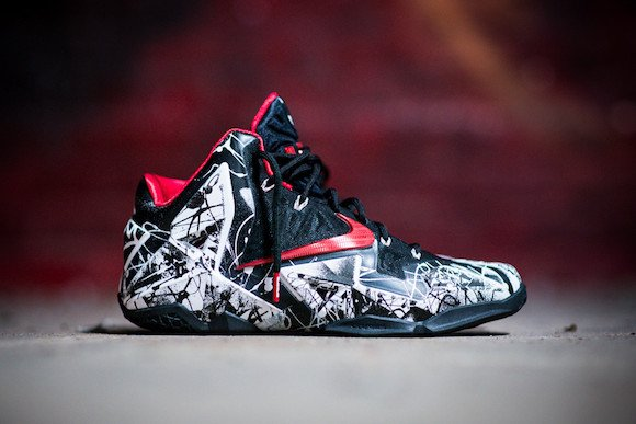 Nike LeBron 11 Graffiti Monday Reminder