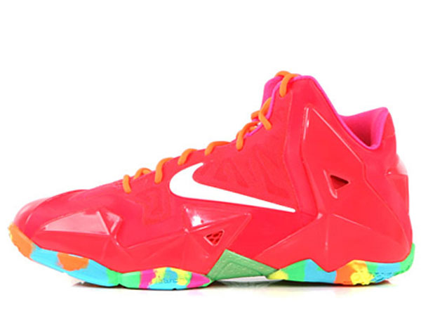 half off 1f956 a0265 Nike LeBron XI (11) GS 'Fruity Pebbles' | Another Look ...