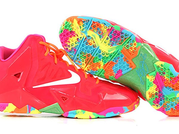 7c643980b394b nike-lebron-xi-11-gs-fruity-pebbles-another-