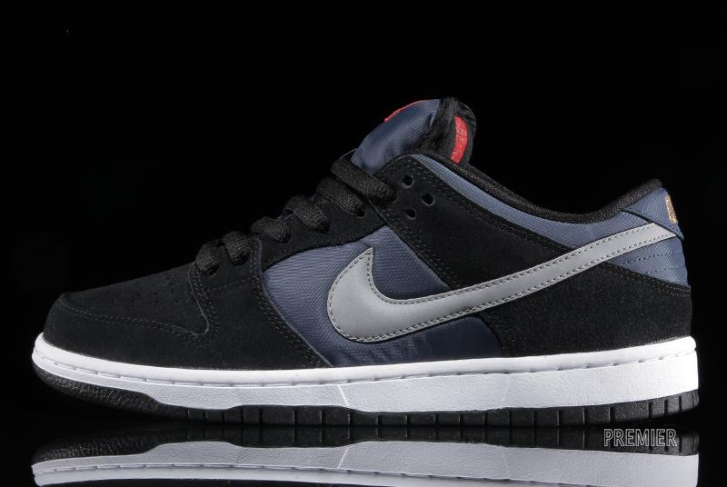 Nike SB Dunk Low Pro Black New Slate Reflective Silver 80%OFF ... 8ef8f6c02