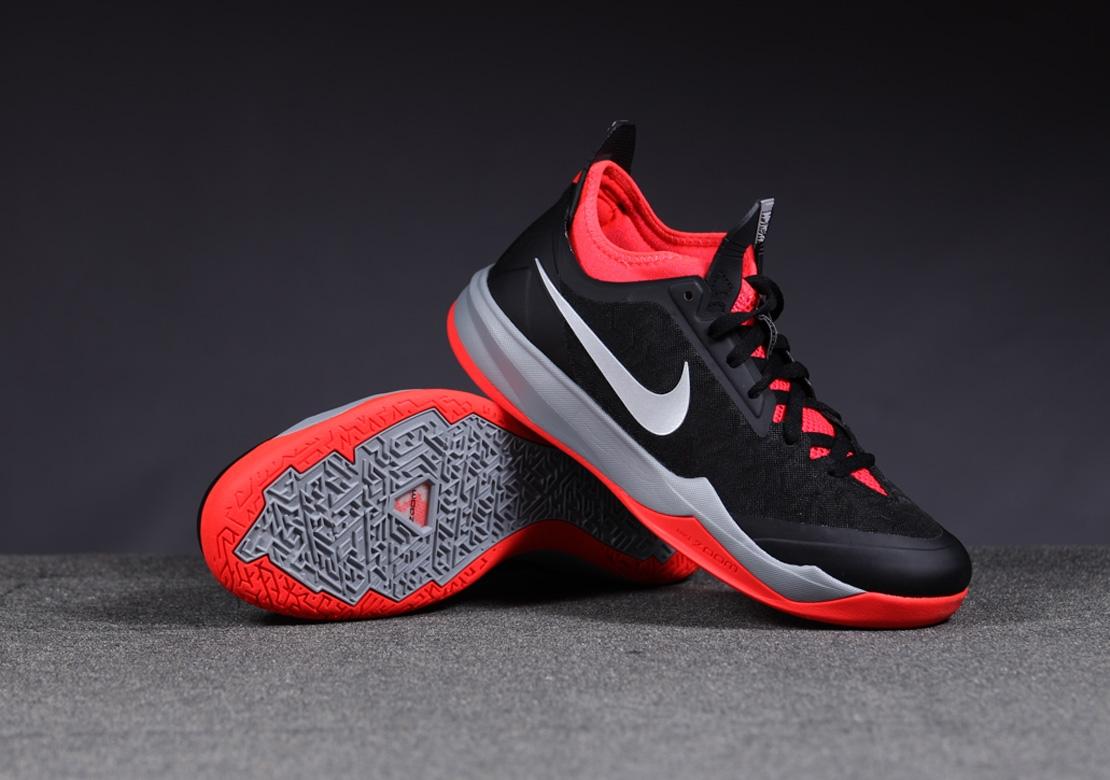 Nike Zoom Crusader 'Black/Metallic Silver-Bright Crimson ...