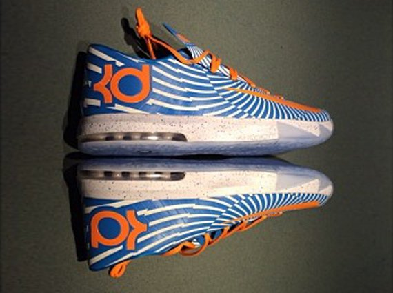 NIKEiD KD 6 New Years Eve by Kevin Durant
