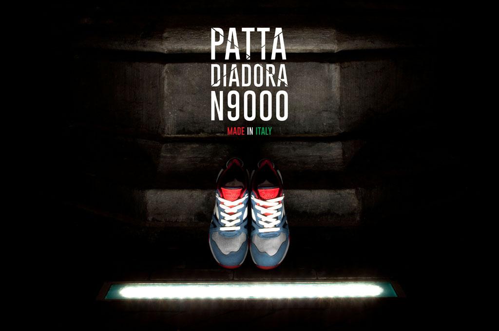 Patta x Diadora N9000 'Made in Italy'