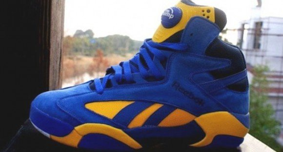 Swizz Beatz Previews New Blue & Gold Reebok Shaq Attaq