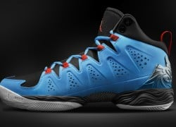 Release Reminder: Jordan Melo M10 'Dark Powder Blue/Team Orange-Black-White'
