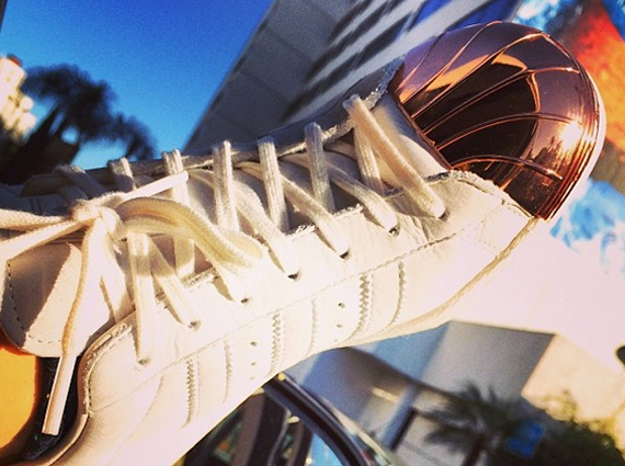 Rita Ora Preview adidas Superstar Metal Toe