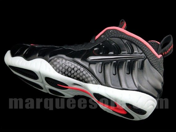 Nike Air Foamposite Pro Solar Red Detailed Look