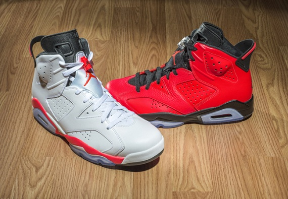Air Jordan 6 Retro 2014 Infrared Pack (Release Reminder)