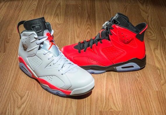 Air Jordan 6 Retro 2014 Infrared Pack (Release Reminder)