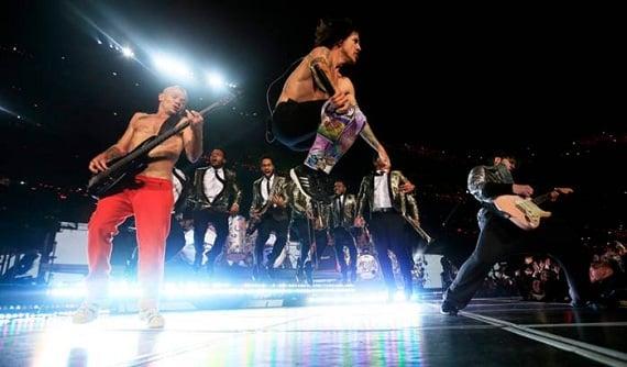 Anthony Kiedis Rocks Halftime Show in adidas Energy Boost
