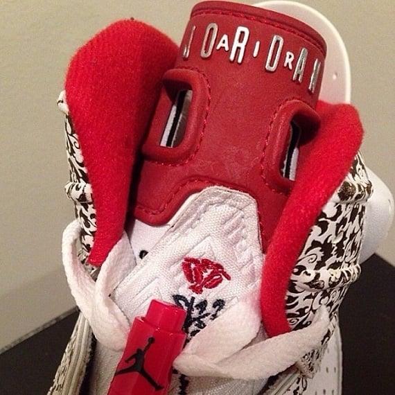 Air Jordan 6 x Kanye West In Memory Of Sample