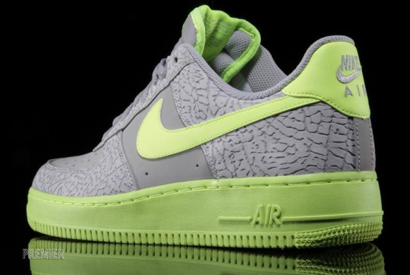 Nike Air Force 1 Low Wolf Grey Volt Now Available