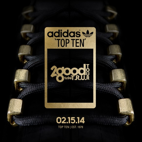 adidas Originals Top Ten 2 Good 2 Be T.R.U. Teaser