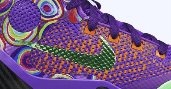 """on sale 3be78 ee9f4 Nike Kobe 9 Elite GS """"Purple Venom""""   SneakerFiles"""