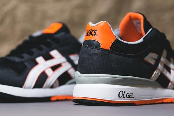 Asics GT II Black/Bright Orange