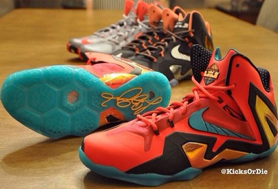 Nike LeBron XI Elite (3 Sample Colorways)