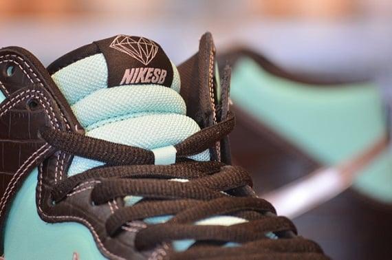 Diamond Supply Co. x Nike SB Dunk Hi Tiffany (Europe Release Date)