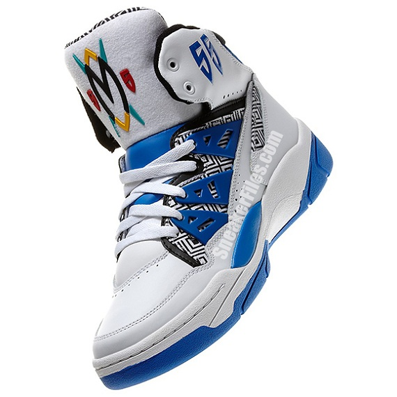 adidas Mutombo White/Blue