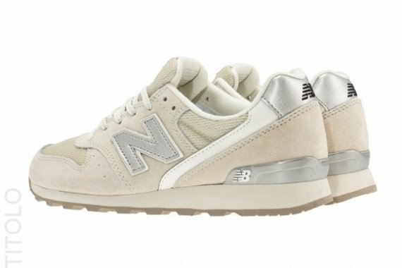 new balance metallic silver
