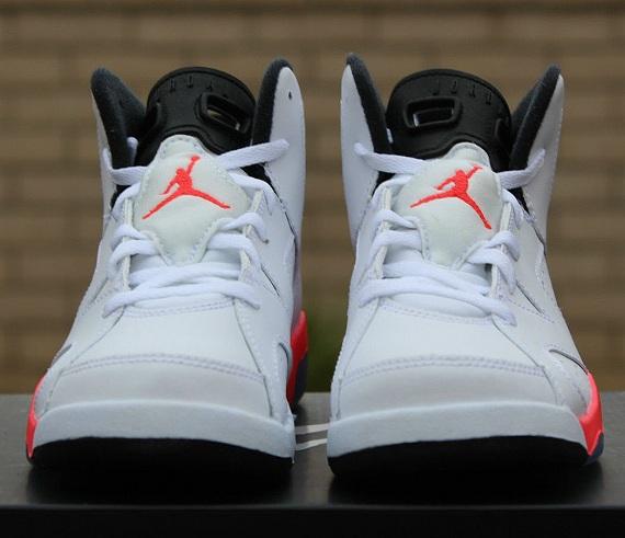 Air Jordan 6 Retro PS (Pre School) White Infrared
