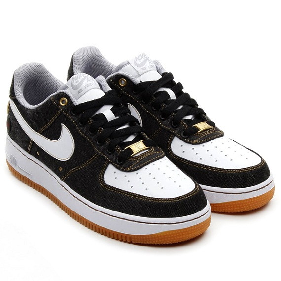 Nike Air Force 1 Low Black Denim - Release Date