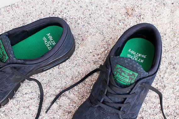Nike Stefan Janoski Max Botas De Ante Verde vCgFAXwmB