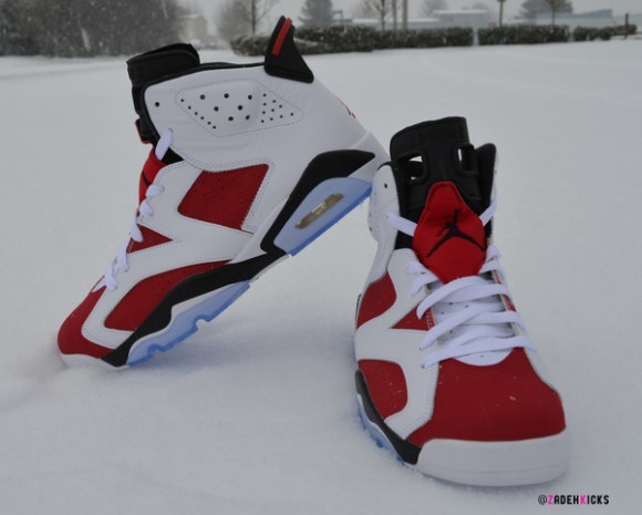Air Jordan 6 Carmine Epic Look