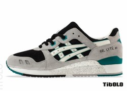 "Asics Gel Lyte III ""Grey, Black and Teal"" – Available Now"
