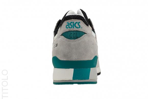 Asics GL III GreyBlkTeal