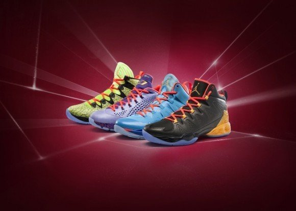 Jordan Brand 2014 All-Star Crescent City Collection