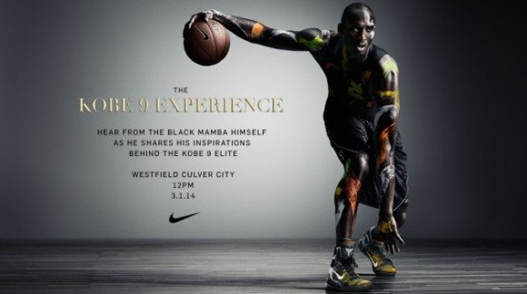 lowest price d57ea caca8 The Nike Kobe 9 Experience Is Coming to Culver City